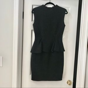 Dark grey Lanvin dress